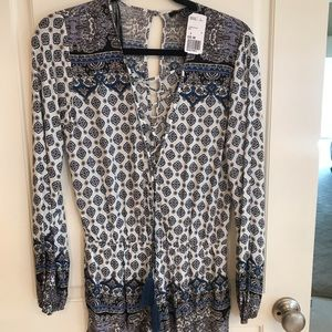 Forever 21 Paisley Romper Brand New with Tags